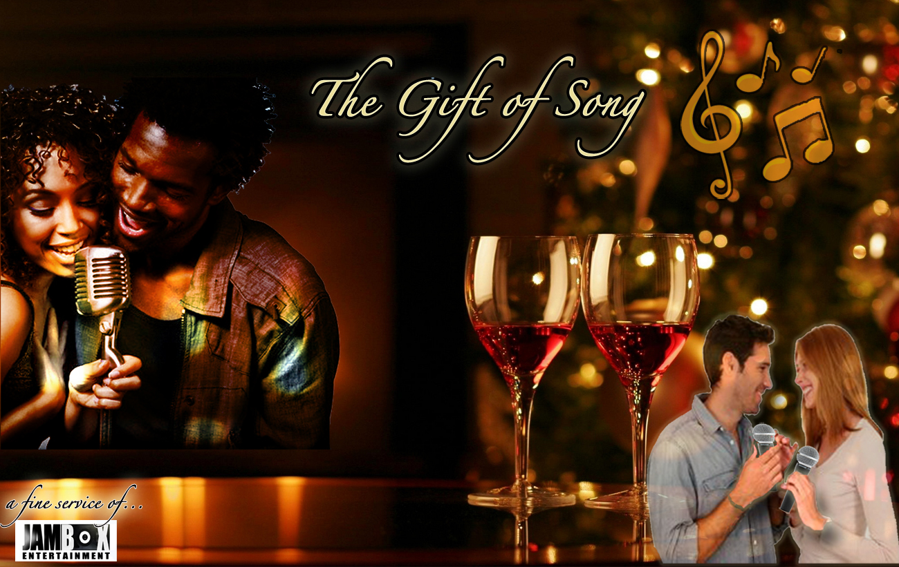 The Gift Of Song NYC, Unique Karaoke singing music gift ideas, sing